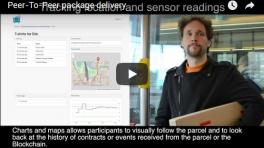 [VIDEO] Peer-To-Peer package delivery
